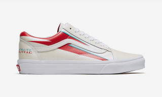 Vans Commemorates David Bowie's Genius With Glammed-Up Sneaker Collection