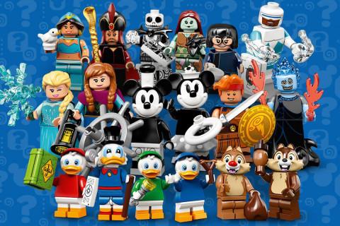 Disney & LEGO Ideas Team Up on 18 New Classic Cartoon Minifigures