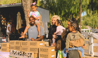 Kanye West & Family Just Hosted Pop-Up YEEZY Lemonade Stands