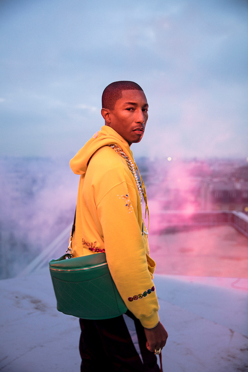 Pharrell Stars in Behind-the-Scenes Chanel Collab Video & Reveals Release Date