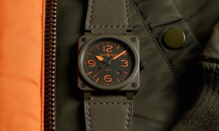 Bell & Ross Debuts an MA-1 Flight Jacket-Inspired $4,000 Timepiece