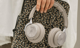 Raf Simons Designs Floral Pouches for Bang & Olufsen's New Headphones & Speakers