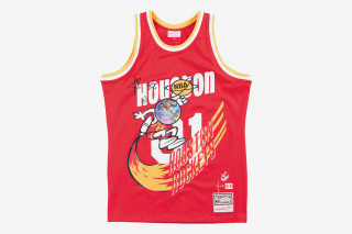 27533fc6d The jersey features a re-imagination of the original Houston Rockets logo  from the 1971 season with signature designs from Scott s Astroworld album  and tour ...