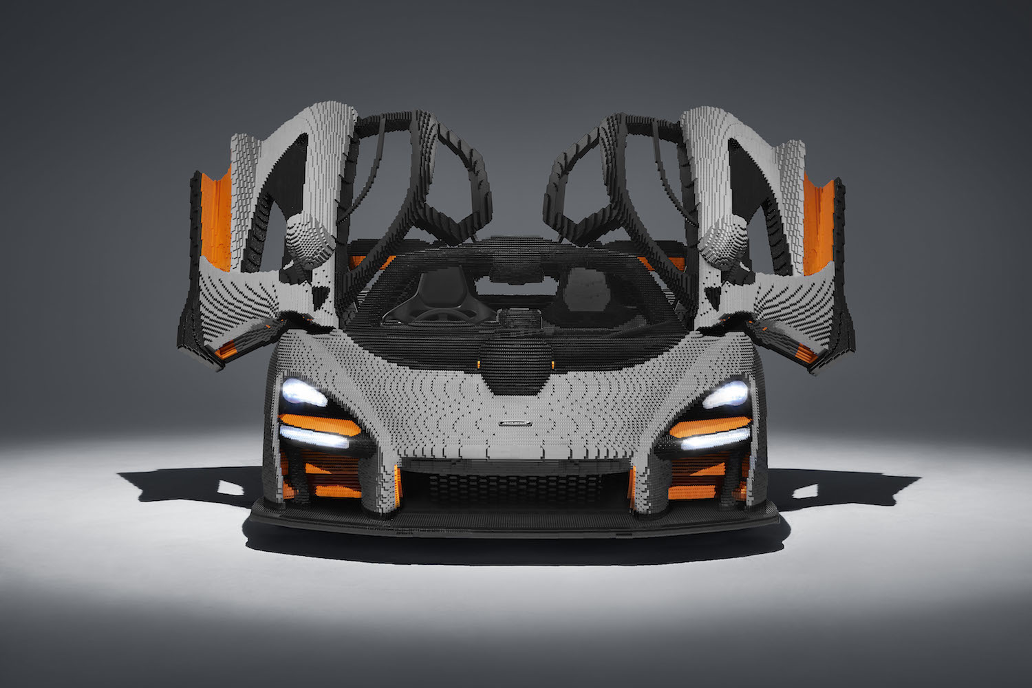LEGO Built a Full-Size Drivable McLaren Senna Using 500,000 Bricks