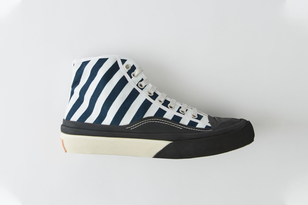 Acne Studios Moves Away From Chunky Sneakers, Dropping Classic Canvas Kicks