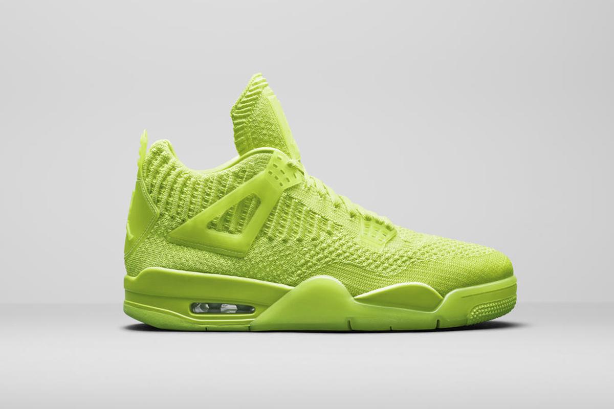 outlet store e582c 9da5b Flyknit Nike Air Jordan 4s Headline Jordan Brand's Summer ...