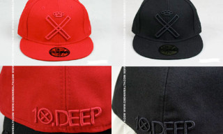 10.Deep Summer '08 Tonal Logo New Era Caps