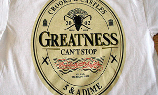 5 & A Dime x Crooks & Castles | Greatness T-Shirt