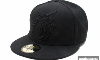 The Hundreds Outline Adam Bomb New Era | Black on Black