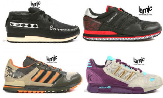 Adidas aZX Series Group 2 I-P Preview: Patta, Neighborhood, Major & More