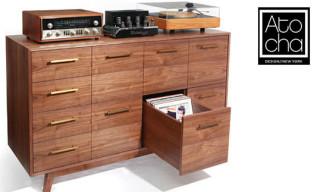 The Record Cabinet by Atocha Design