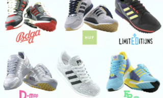 adidas aZX A To H Collection – ACU/Bodega/Colette/D-Mop & More