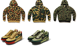 Bape Autumn/Winter 2008 Camo Items