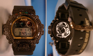 Pharrell's Custom Bape/BBC G-Shocks