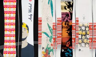 "Burton F/W '08/09 ""Warhol"" Snowboards"