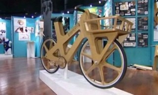 Cardboard Bicycle