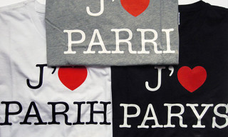 "Colette x Gap ""I Love Paris"" T-Shirts By Claude Closky"