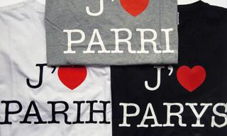 """Colette x Gap """"I Love Paris"""" T-Shirts By Claude Closky"""