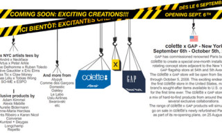 Colette x Gap Website Launched + Collaborations Announced