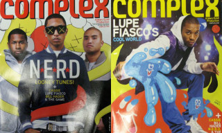 Complex Magazine – N.E.R.D./Lupe Fiasco/Kaws On The Cover