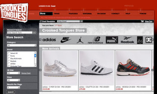 Crooked Tongues Store Relaunch + Adidas aZX Pre-Order