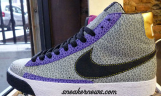Nike Blazer High x Dave's Quality Meat | Grey/Purple