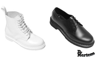 "Dr. Martens ""Made in Monochrome"" Collection"