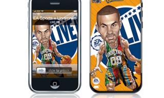EA Games x MusicSkins x Undrcrwn iPhone Skin