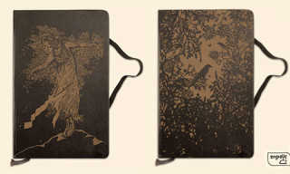 "Engrave Your Book ""Artist Series"" Moleskins"
