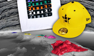 "Fitted Hawaii ""Standing 8"" Tee and Custom New Era"