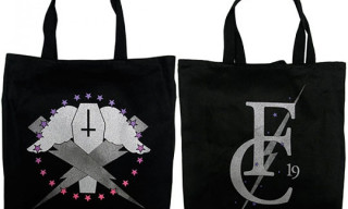 Flying Coffin Tote Bags