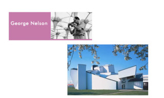 George Nelson at Vitra Design Museum