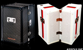 Goyard Trunks for Assouline