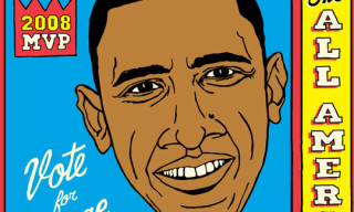 Barack Obama Print By Grotesk