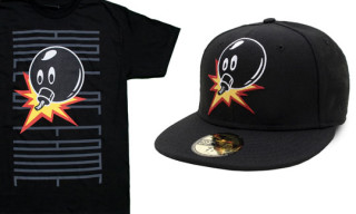 "Hall Of Fame ""Adam Bomb Flipped"" New Era Cap & T-Shirt"