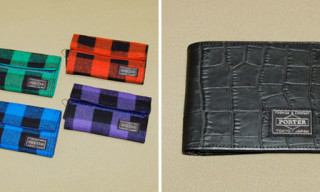 Head Porter Block Check And Exotic Leather Collection