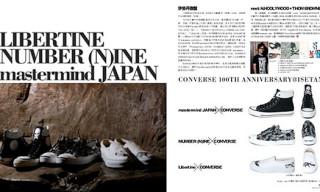 Converse 100th Anniversary @ Isetan: Libertine/Number (N)ine/Mastermind