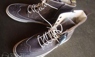 Junya Watanabe (Comme Des Garcons) x Vans – Wingtip Boots