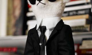 Karl Lagerfeld Steiff Teddy Bear