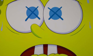 """Kaws """"Saturated"""" Exhibition At Galerie Emmanuel Perrotin"""