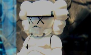 "Original Fake ""Stormtrooper"" Vinyl Toy By Kaws"