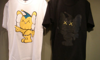"Original Fake ""Kaws JJP"" T-Shirts And Stickers"
