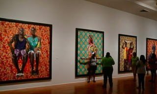 Kehinde Wiley at the Studio Museum Harlem