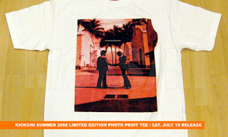 Kicks/Hi Summer 2008 | Limited Edition T-Shirts