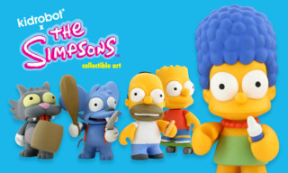 Kidrobot x The Simpsons Vinyl Figures