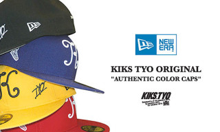 "Kiks TYO x New Era ""Authentic"" Series"