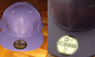 "Leilow ""Perforated"" New Era Cap – Purple"