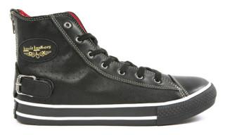 Lewis Leathers x Comme Des Garcons Hi Top Sneakers