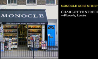 Monocle Goes Street | Launched Branded Newsstand