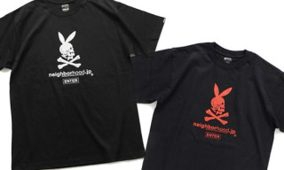 "Neighborhood.jp Online Exclusive | ""Enter C"" T-Shirt"